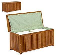 Auflagenbox-Gartenmöbel-Gartenbank-Gartenbank Holz-Sitzkissen