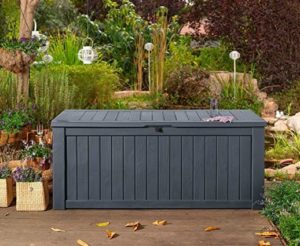 Auflagenbox-Gartentruhe-Gartenbox-Kisstentruhe-Kunsstoff
