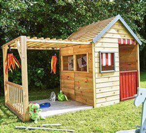 Garten Spielhaus mit Vordach