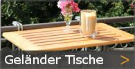 Balkonhängetisch Klapptisch Geländer Tisch Holz Sortiment entdecken
