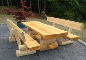 Gartenbank-massiv-massivholz-rustikale-sitzgarnitur ...