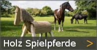 Holzpferd Holzspielferd Holzspielpferde aus Holz Sortiment