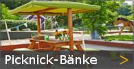 Kinder Picknickbbank Gartenbänke mit Sonnendach Holz Sortiment entdecken