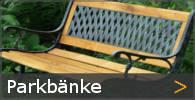Parkbank Gartenbank Gusseisen Holz klassisch Sortiment entdecken