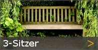 3-Sitzer Gartenbank Holz Sortiment entdecken