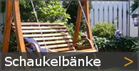 Schaukelbank Holz Hollywoodschaukel Swing Bänke Hängebank Sortiment entdecken