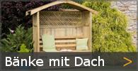 Laubenbank Philosophenbank Gartenbank Holz Sortiment entdecken