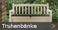 Truhenbank Holz Gartenbank mit Stauraum Sortiment entdecken