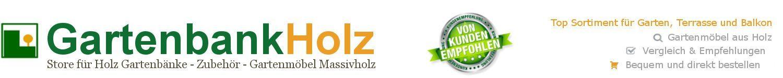 Gartenbank Holz – Gartenbänke kaufen – Großes Sortiment 🥇