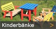 Kinderbank Gartenbank Sortiment entdecken