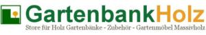 Gartenbank Holz Store Logo
